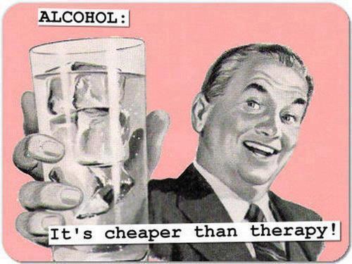 alcohol mas barato que terapia