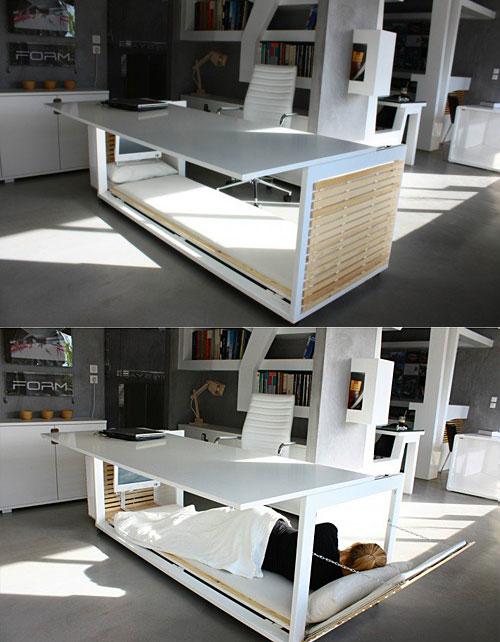 escritorio cama