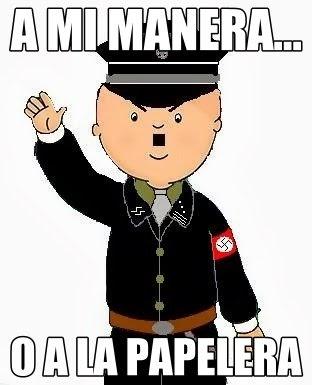 Caillou Nazi
